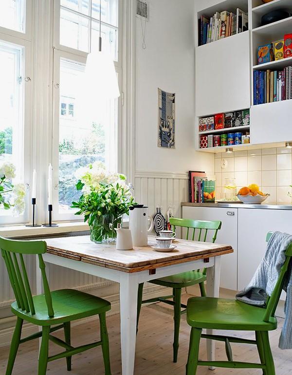 Красивый дизайн кухни в скандинавском стиле фото