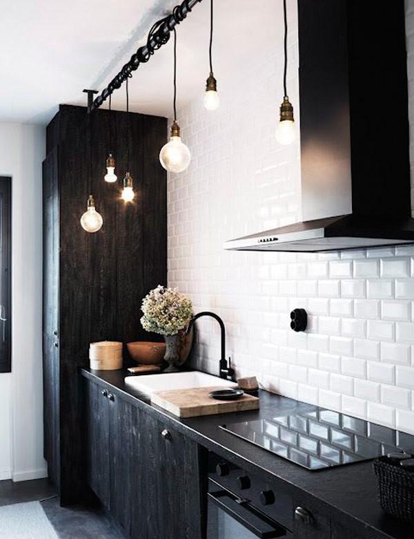 Необычный дизайн кухни в скандинавском стиле фото
