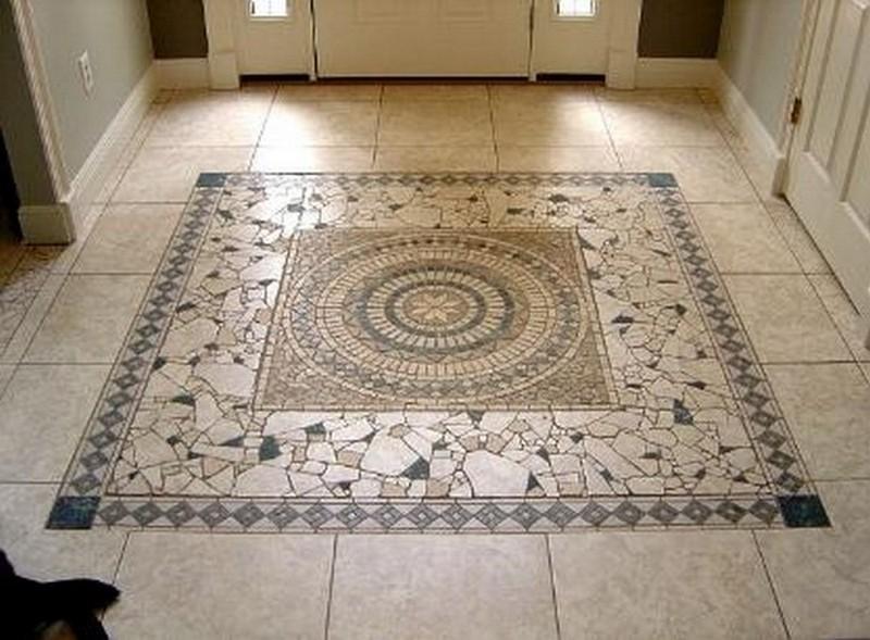 мозаика панно на пол фото
