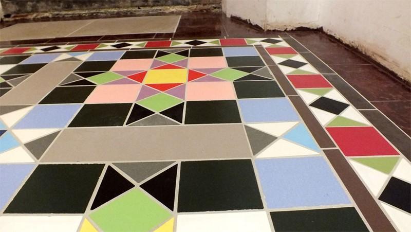 керамическая метлахская плитка фото