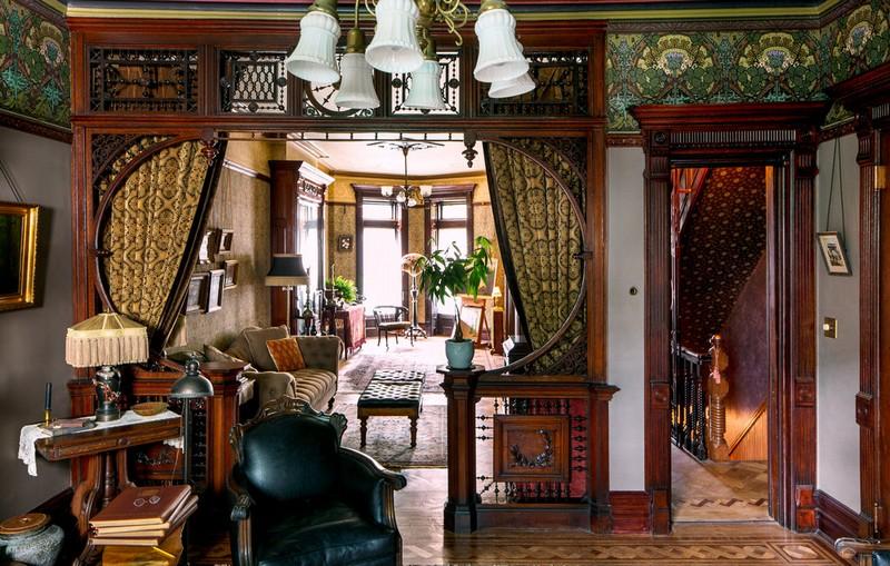 Интерьер в стиле викторианской эпохи