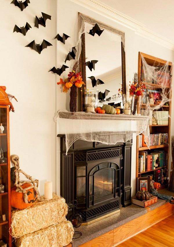 Интерьер к Хэллоуину фото