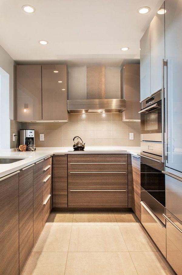 Как сэкономить пространство на кухне фото