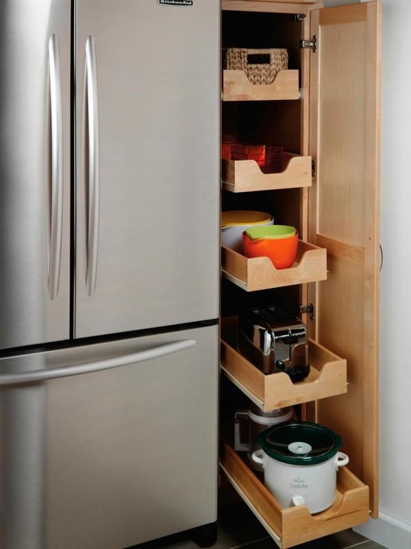 Экономим пространство кухни с выдвижными системами