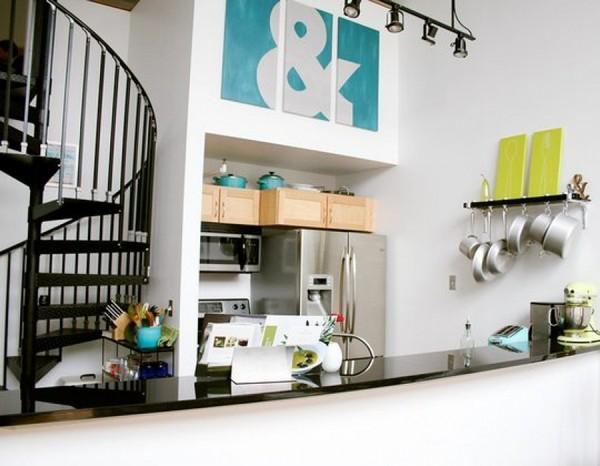 Идеи экономия пространства на кухне фото