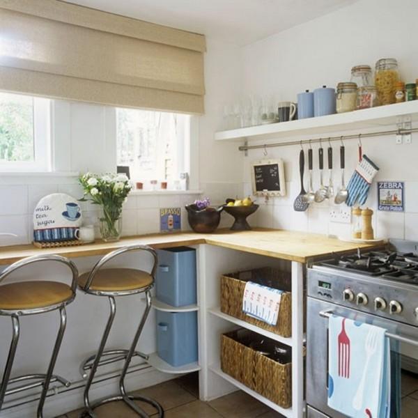 Как можно сэкономить место на кухне фото