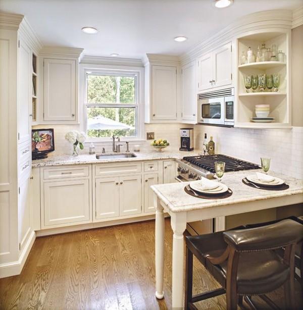 Экономия места на кухне фото