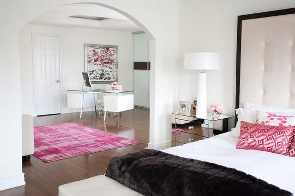 Арка в спальне с кабинетом фото