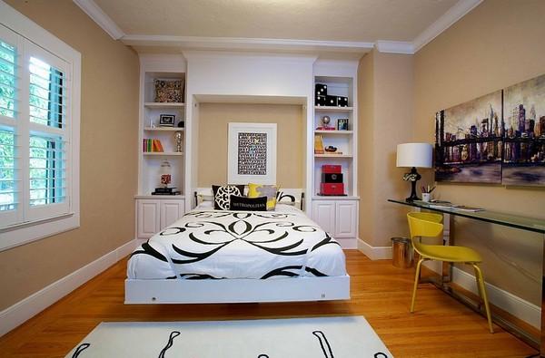 Спальня совмещенная с кабинетом