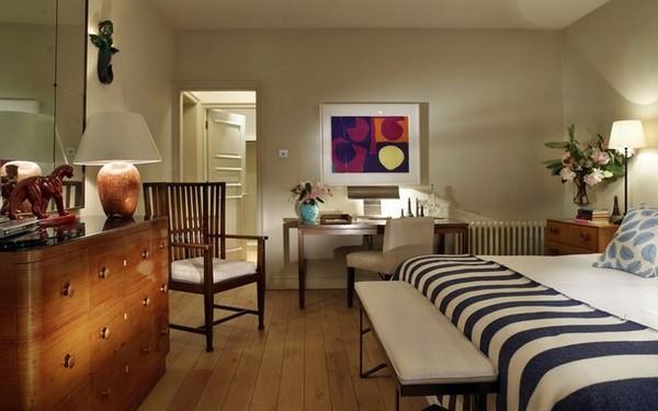 Освещение для кабинета и спальни в одной комнате
