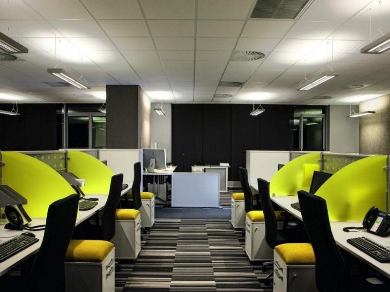 Дизайн офиса в стиле хай-тек фото