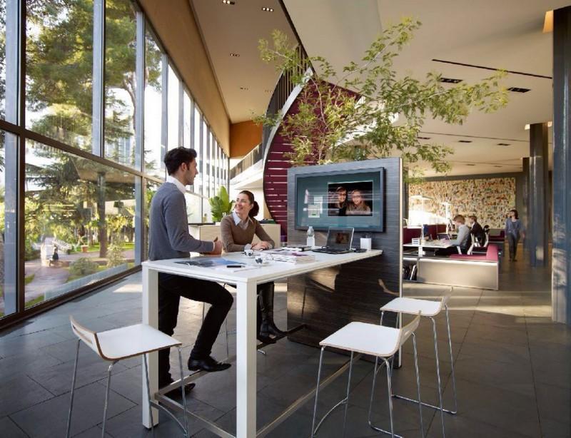 Современный интерьер офиса фото