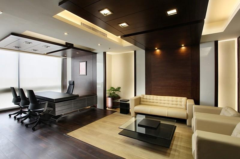 Дизайн офиса в классическом стиле
