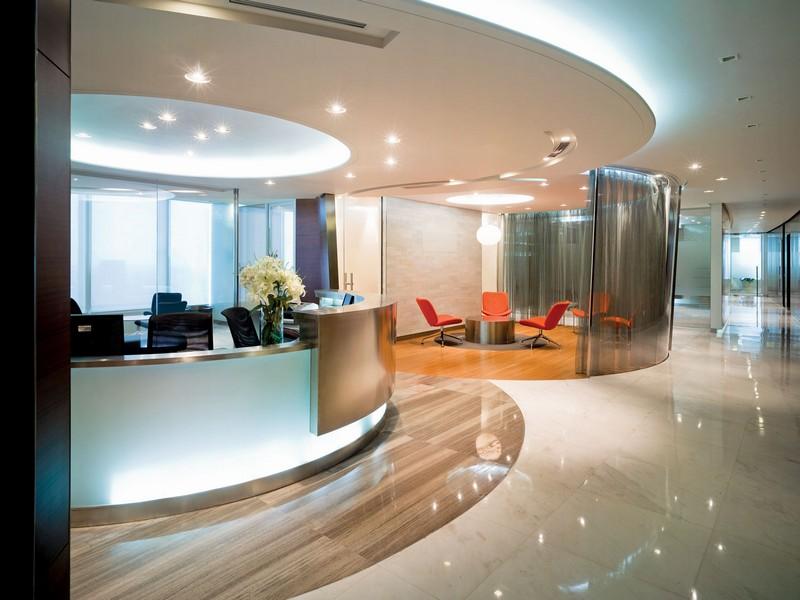 Зал для переговоров и встреч со стеклянной перегородкой
