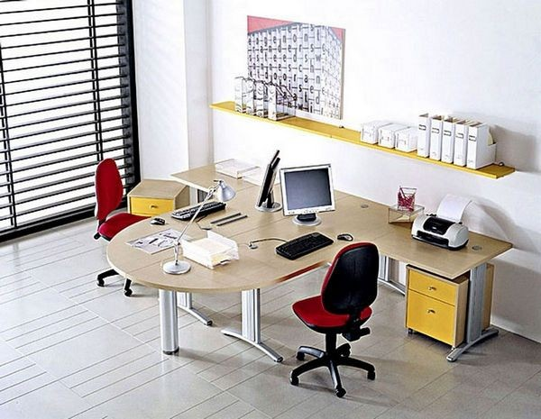 Рабочее место в офисе по фен-шуй фото