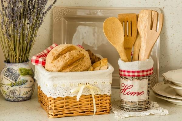 Плетеная хлебница фото