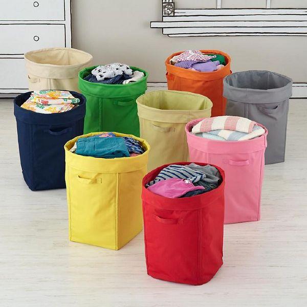 Корзины для игрушек и белья для детской комнаты