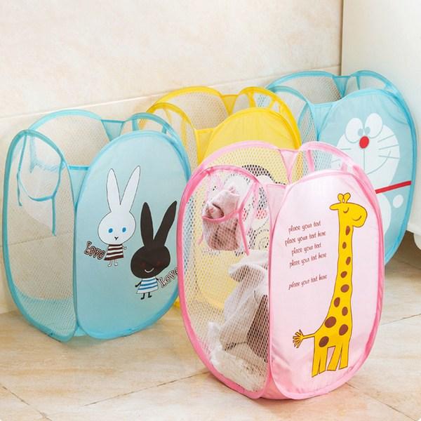 Цветные корзины для детских игрушек