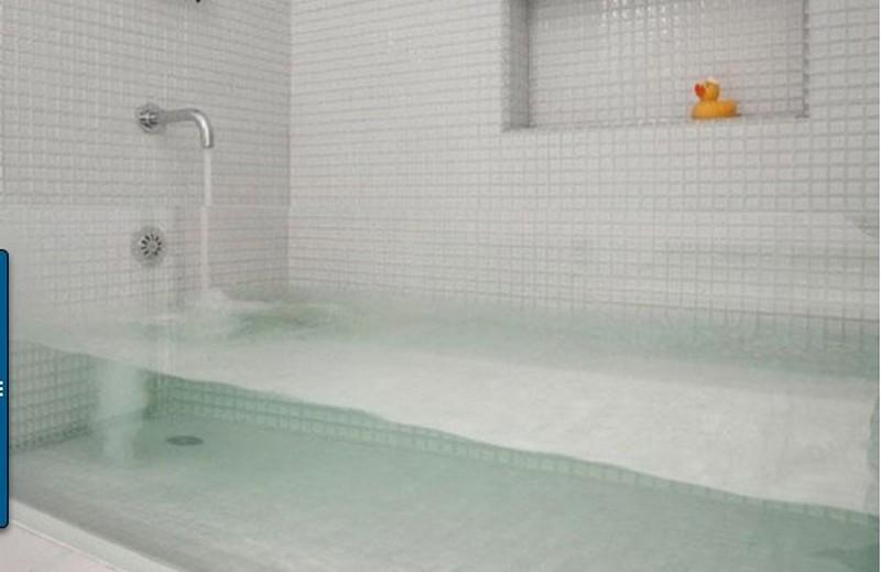 Прозрачная ванна фото