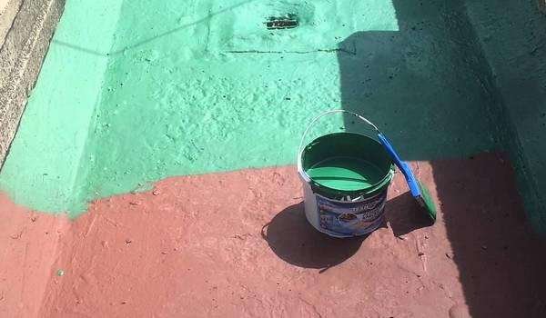 Резиновая краска фото