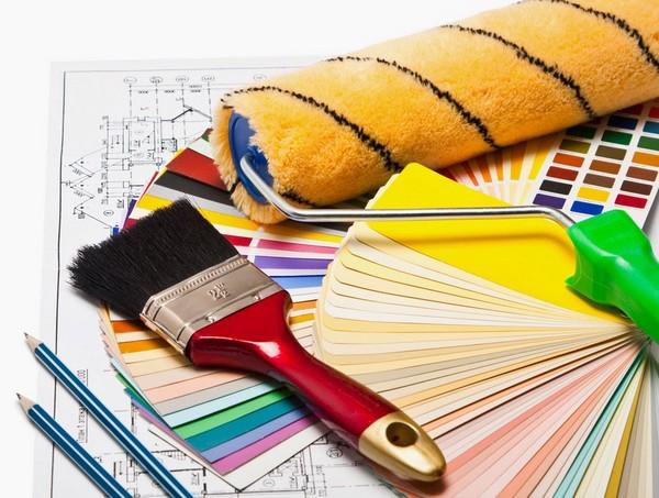 Меховой валик для покраски
