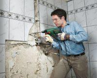 Как снять старую плитку: все, что необходимо знать о демонтаже кафеля
